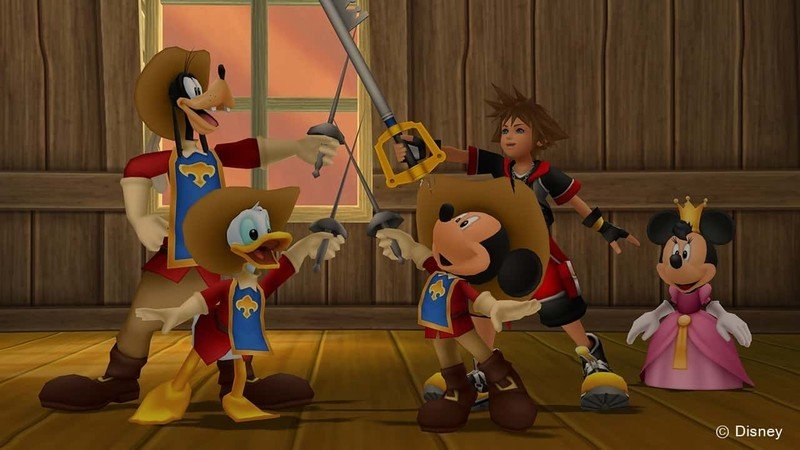Kingdom Hearts Mousketeers