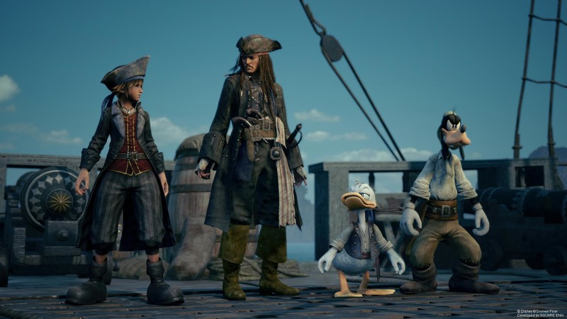 Kingdom Hearts 3 Pirates Of The Carribbean