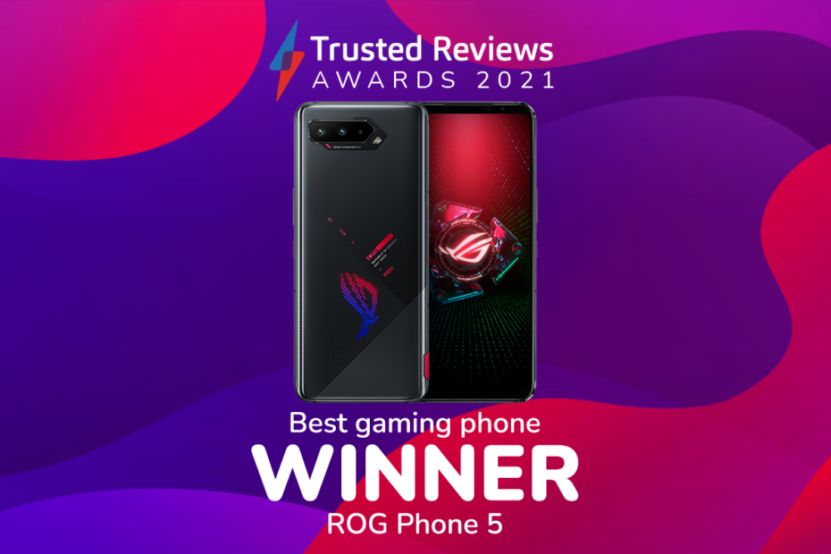 Trusted Reviews Awards 2021: The ROG Phone 5 wins Best Gaming Phone