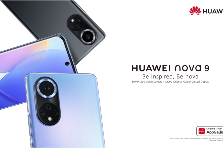 Huawei unveils the Nova 9 to try and rival the Google Pixel 6